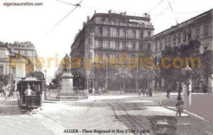 Alger - rue d\'Isly - Place Bugeaud